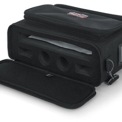 Gator GM-DUALW - borsa per sistema wireless doppio Shure BLX e similari
