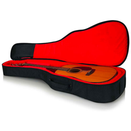 Gator GT-ACOUSTIC-BLK - Borsa semirigida per chitarra acustica - colore nero