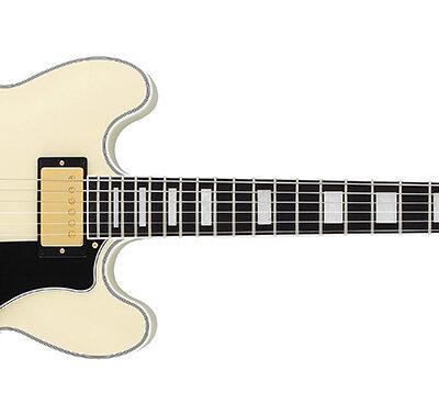 FGN Masterfield Semi Acoustic MSA-HP-C/AWHQ - Antique White - c/astuccio