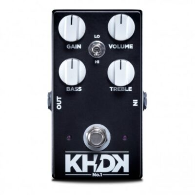 KHDK No. 1 Overdrive - Pedale overdrive per chitarra - Made in USA