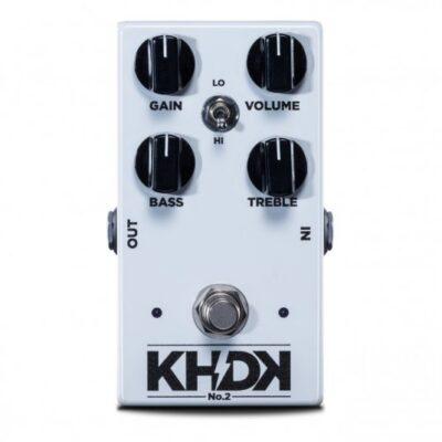 KHDK No. 2 Clean Boost - Pedale boost per chitarra - Made in USA