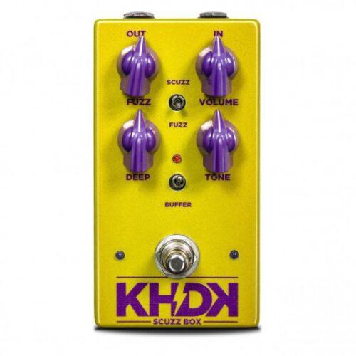KHDK Scuzz Box - Pedale fuzz per chitarra - Made in USA
