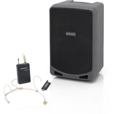 Samson EXPEDITION XP106WDE - PA Portatile con Bluetooth e sistema XPD1 (DE5) - 100W