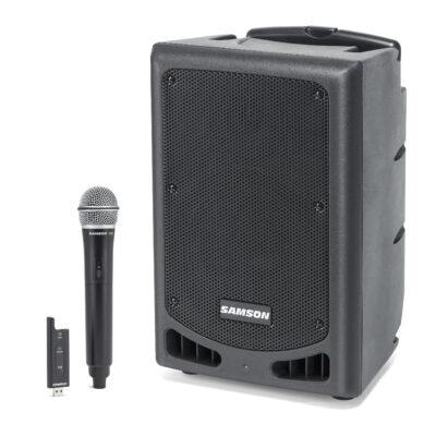 Samson EXPEDITION XP208w - PA Portatile con Bluetooth - 200W