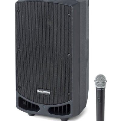 Samson Expedition XP310w - PA portatile ricaricabile con microfono palmare (542–566 MHz)