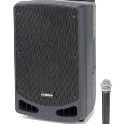 Samson Expedition XP312w - PA portatile ricaricabile con microfono palmare (542–566 MHz)