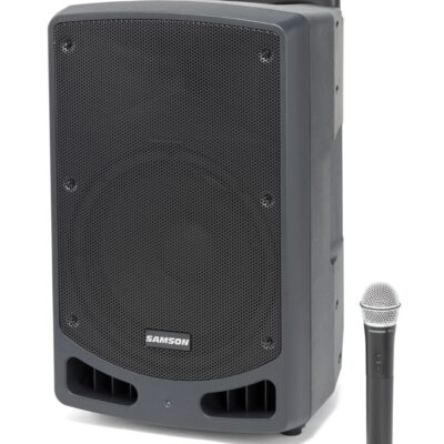 Samson Expedition XP312w - PA portatile ricaricabile con microfono palmare (470–494 MHz)