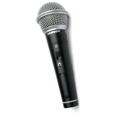 Samson R21S - Microfono Dinamico - Cardioide - c/Switch e cavo