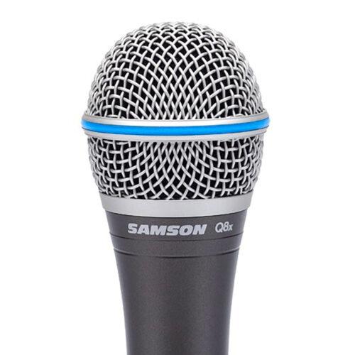 Samson Q8X - Microfono Dinamico - Supercardioide - c/Astuccio