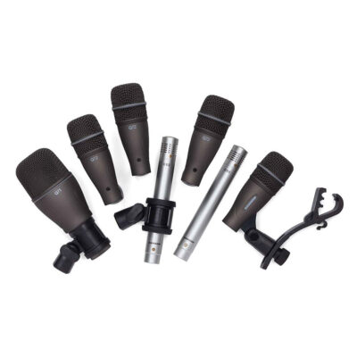 Samson DK707 - Set di Microfoni per Batteria - 7 pezzi