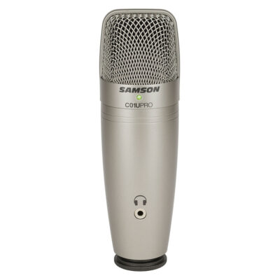 Samson C01U PRO - Microfono a Condensatore USB - Cardioide