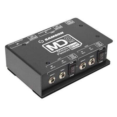 Samson MD2PRO - D.I. Box Pro stereo - Passiva