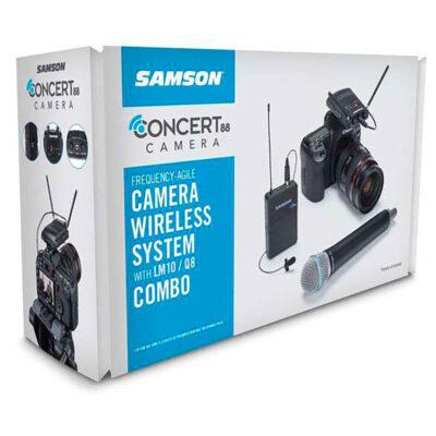 Samson CONCERT 88 UHF Camera Combo System - F (606-630 MHz)