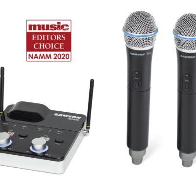 Samson Concert 288m Dual Handheld - sistema wireless frequenza K (470–494 MHz)