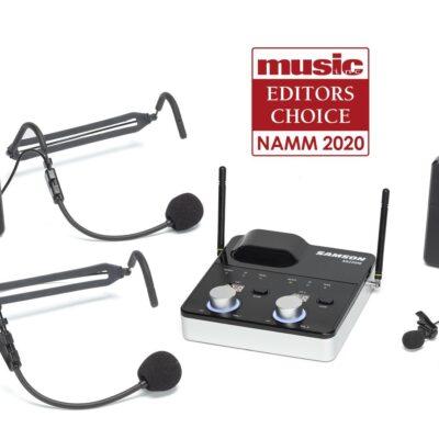 Samson Concert 288m Presentation - sistema wireless frequenza K (470–494 MHz)