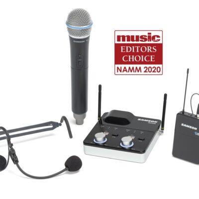 Samson Concert 288m All In One - sistema wireless frequenza K (470–494 MHz)