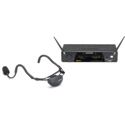 Samson AIRLINE 77 UHF - AH7 Aerobics Headset System - E1 (863.125 MHz)