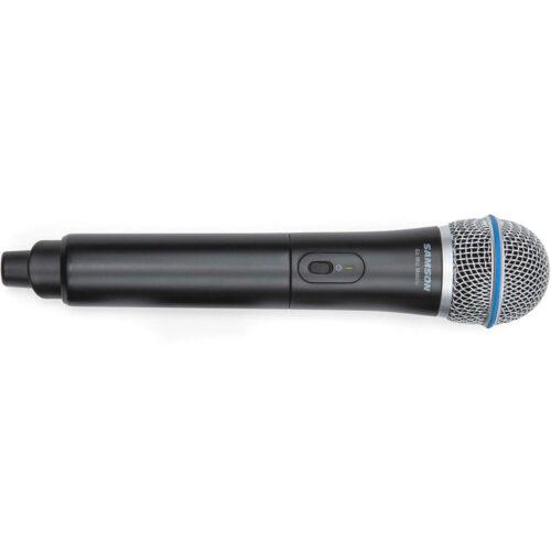 Samson GMM - Microfono palmare con trasmettitore integrato per Go Mic Mobile