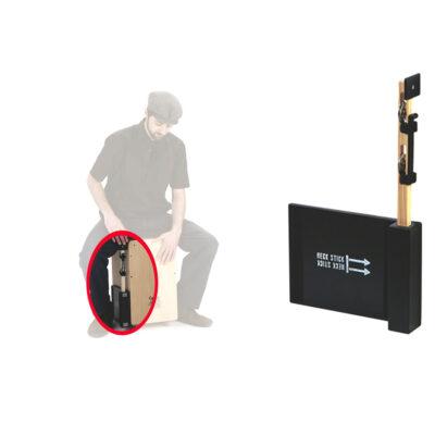 Schlagwerk HECK75 - Heck Stick - jingle stick c/piastra di montaggio per cajon
