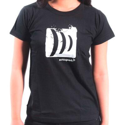 Schlagwerk T-shirt Donna - L - nera