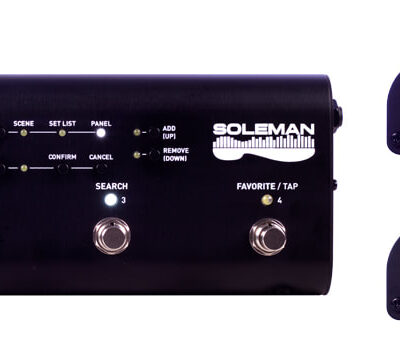 Source Audio SA165 SOLEMAN MIDI FOOT CONTROLLER - Controller MIDI