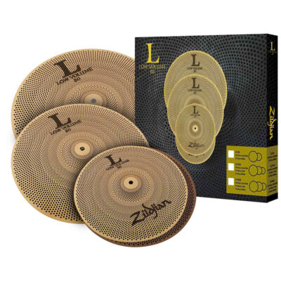 Zildjian Cartone 4 L80 Low Volume (LV468): ride + hi-hat + crash
