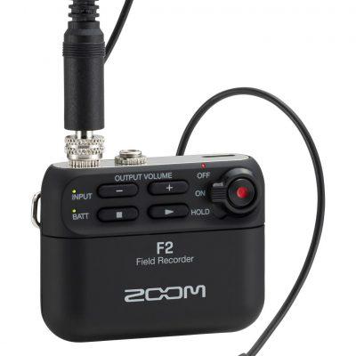 Zoom F2 - field recorder + Microfono lavalier