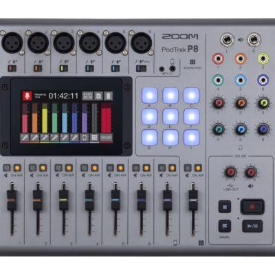 Zoom P8 - Mixer/Registratore podcast portatile