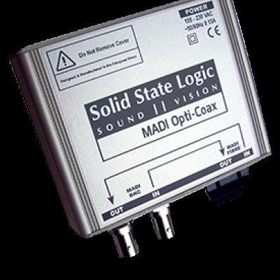 SSL Delta-Link MADI Opti-Coax