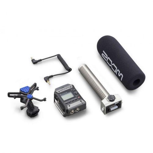 Zoom F1-SP Field Recorder Con Microfono Shotgun