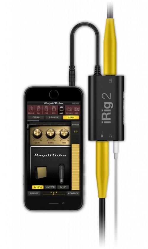 IK Multimedia iRig 2 Interfaccia audio (Chitarra/Basso)