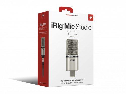 IK Multimedia iRig MIC Studio XLR Microfono