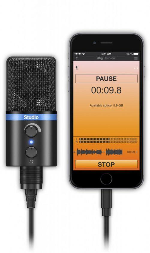 IK Multimedia iRig MIC Studio Microfono