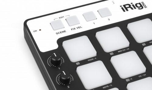 IK Multimedia iRig Pads Groove controller