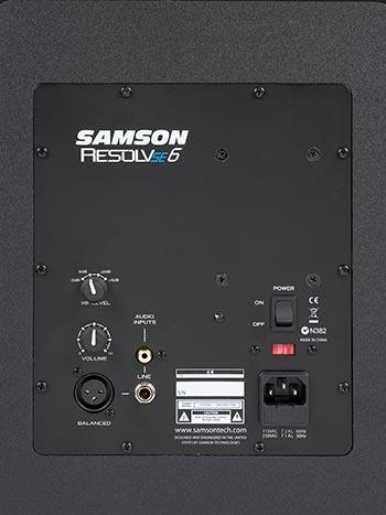 Samson Resolv SE6 Monitor Attivo Studio