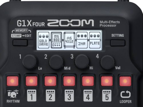 Zoom G1X FOUR Pedaliera Multieffetto