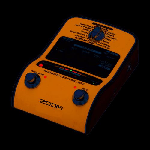 Zoom AC-2 Preamp Pedale Per Chitarra Acustica