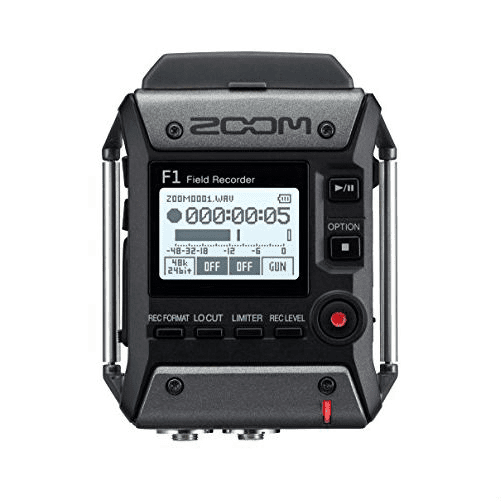 Zoom F1-LP Field recorder + Microfono Lavalier