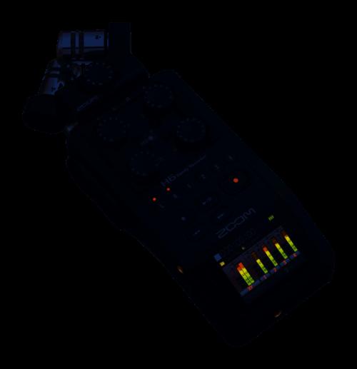 Zoom H6 Black Registratore 6 tracce - Interfaccia USB