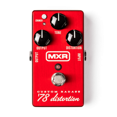 Mxr M78 Custom Badass '78 Distorsion