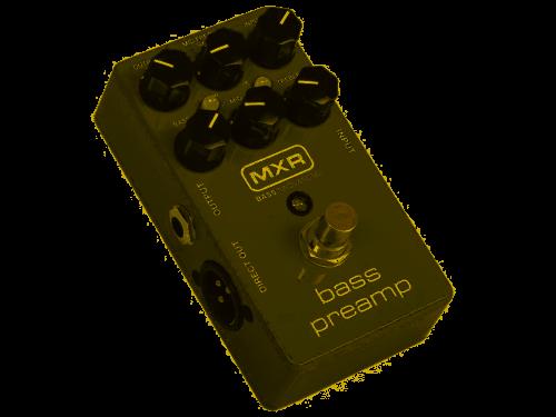 Mxr M81 Bass Preamp Pedale Per Basso