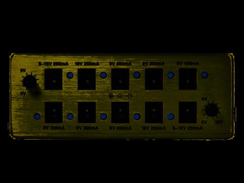 Mxr Alimentatore Iso-Brick M238 a 10 uscite