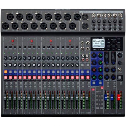 Zoom L-20 - Mixer digitale 20 canali, recorder