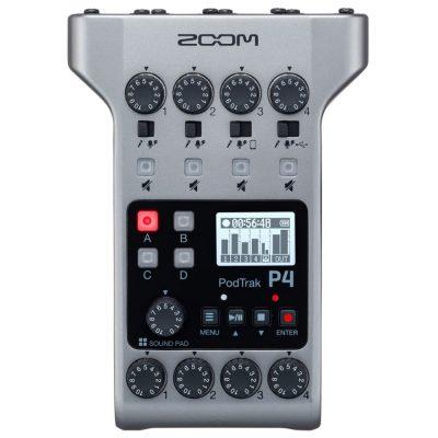 Zoom Podtrak P4 Registratore podcast portatile