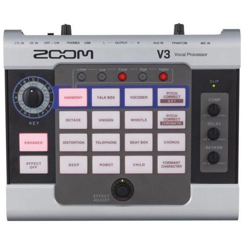 Zoom V3 Multieffetto Per Voce USB