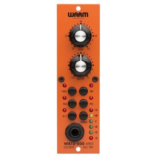 Warm Audio WA12-500 MKII Preamp. Microfonico