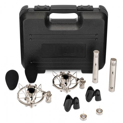 Warm Audio WA-84 Nickel Premium Package Coppia Stereo