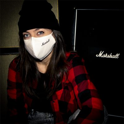 Marshall Face Mask White