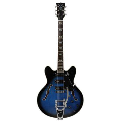 Vox Bobcat S66B Bigsby Sapphire Blue
