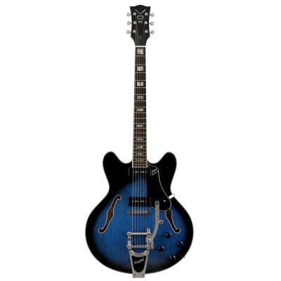 Vox Bobcat V90B Bigsby Sapphire Blue
